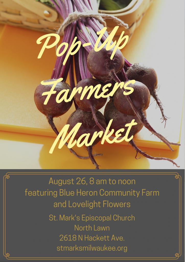 popup farmers market