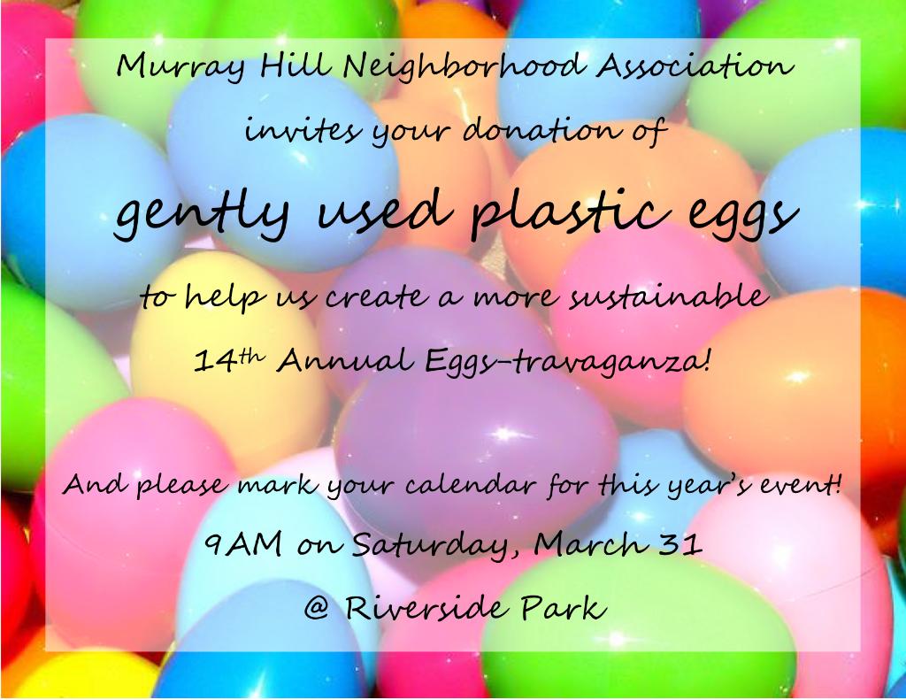 2018 Spring Eggstravaganza Egg Recycling